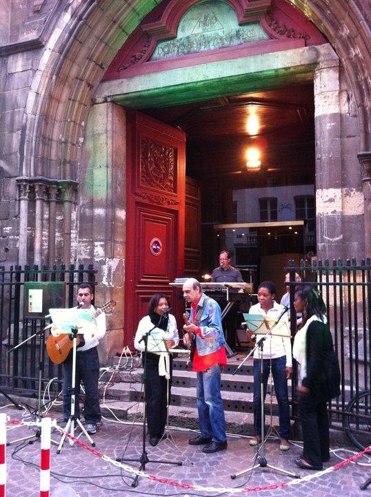 2Fête de la musique 2011 - Parvis de l`église St Leu-St Gilles